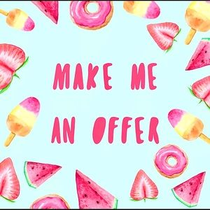 Don't be afraid to make me an offer 🌸😍